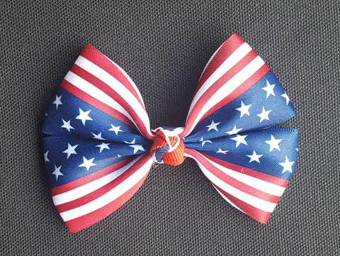 4th of July Hair Bow 1