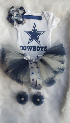 Dallas Cowboys Tutu Gift Set