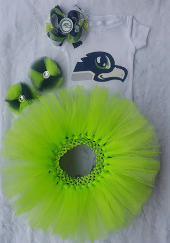 Seattle Seahawks Tutu Gift Set