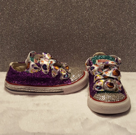 Doc McStuffins Toddler Bling Converse