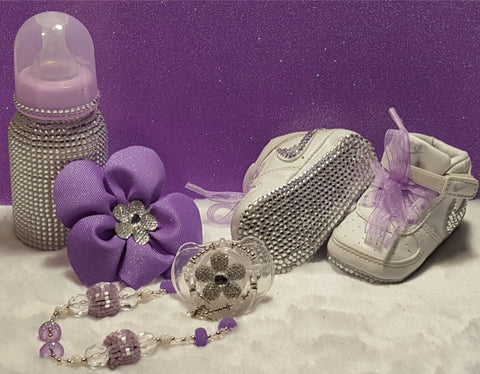Heavenly Soft Newborn Bling Set