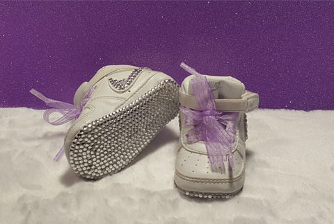 Heavenly Soft Nike Baby Bling Shoes