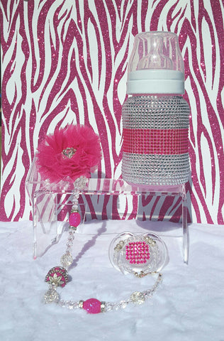 Passionately Pink Baby Bling Gift Set