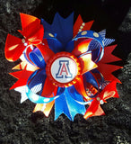 University Of Arizona Hair Bow