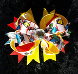 Cat In The Hat Bling Hair Bows