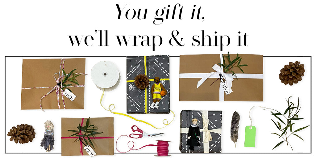 You gift it, we'll wrap it and ship it