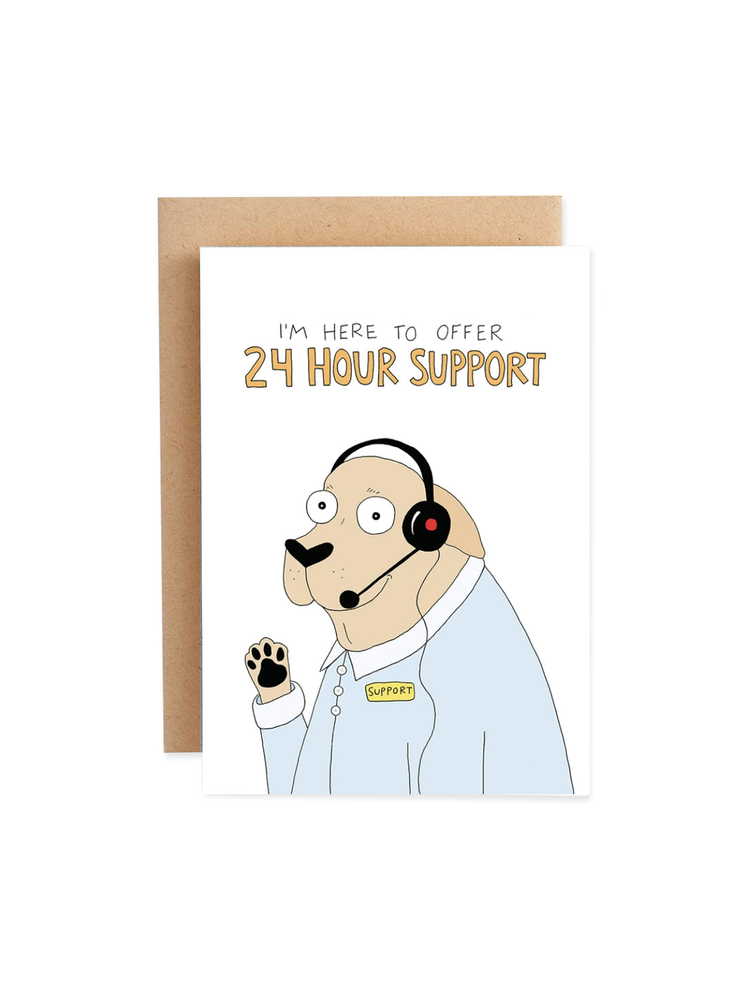24 Hour Support Card