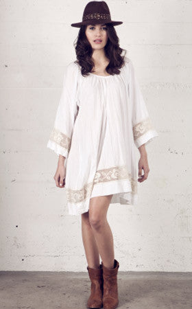 Alexa Tunic,kaftan, sand & sea club- Woo