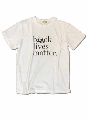 Black Lives Matter tee in White