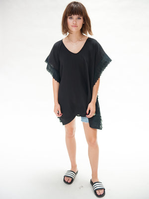 Kauai Kaftan Poncho,kaftan, The House of Woo- Woo