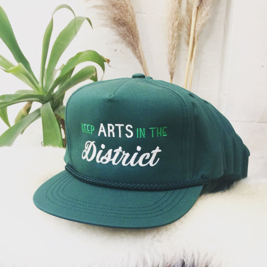 Keep Arts in the District Hat,hat, The Uplifters- Woo