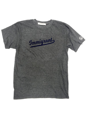 Immigrant Tee,t-shirt, The Uplifters- Woo