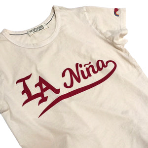 LA Niña Tee,t-shirt, The Uplifters- Woo