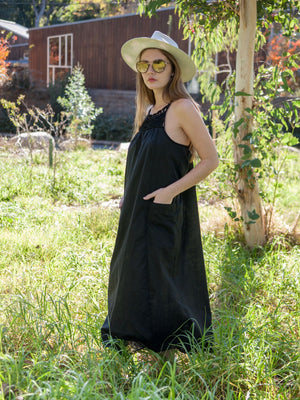 Macrame Mumu,dress, Woo- Woo
