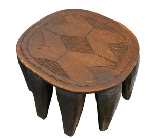 Nigerian Nupe Stool,, The House of Woo- Woo