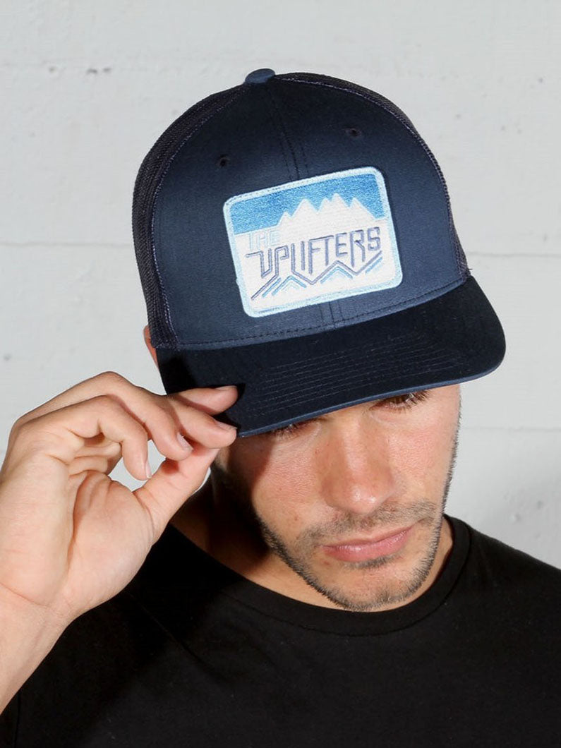 Classic Uplifters Patch Hat - Navy,hat, The Uplifters- Woo