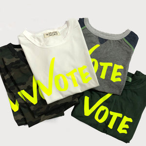 Vote (fill in the blank) tee,, The Uplifters- Woo