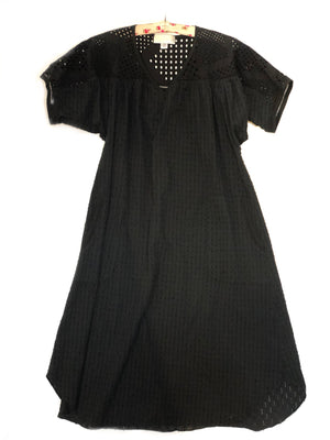 Beatrice house dress - black,, Woo- Woo