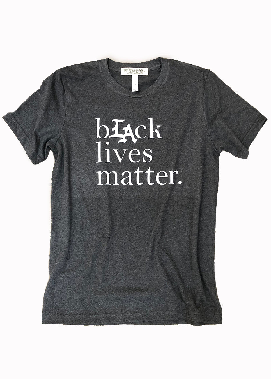 Black Lives Matter tee in Grey
