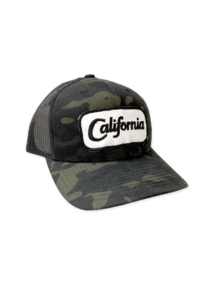 California Camo Hat,hat, The House of Woo- Woo