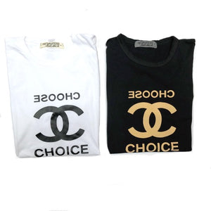 Choose Choice Tee,, The Uplifters- Woo