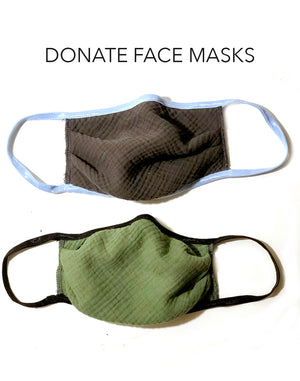 Donate Cotton Face Masks,face mask, The House of Woo- Woo