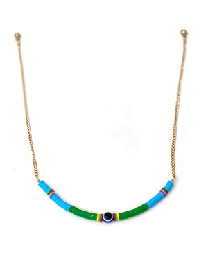 Evil eye convertible chain