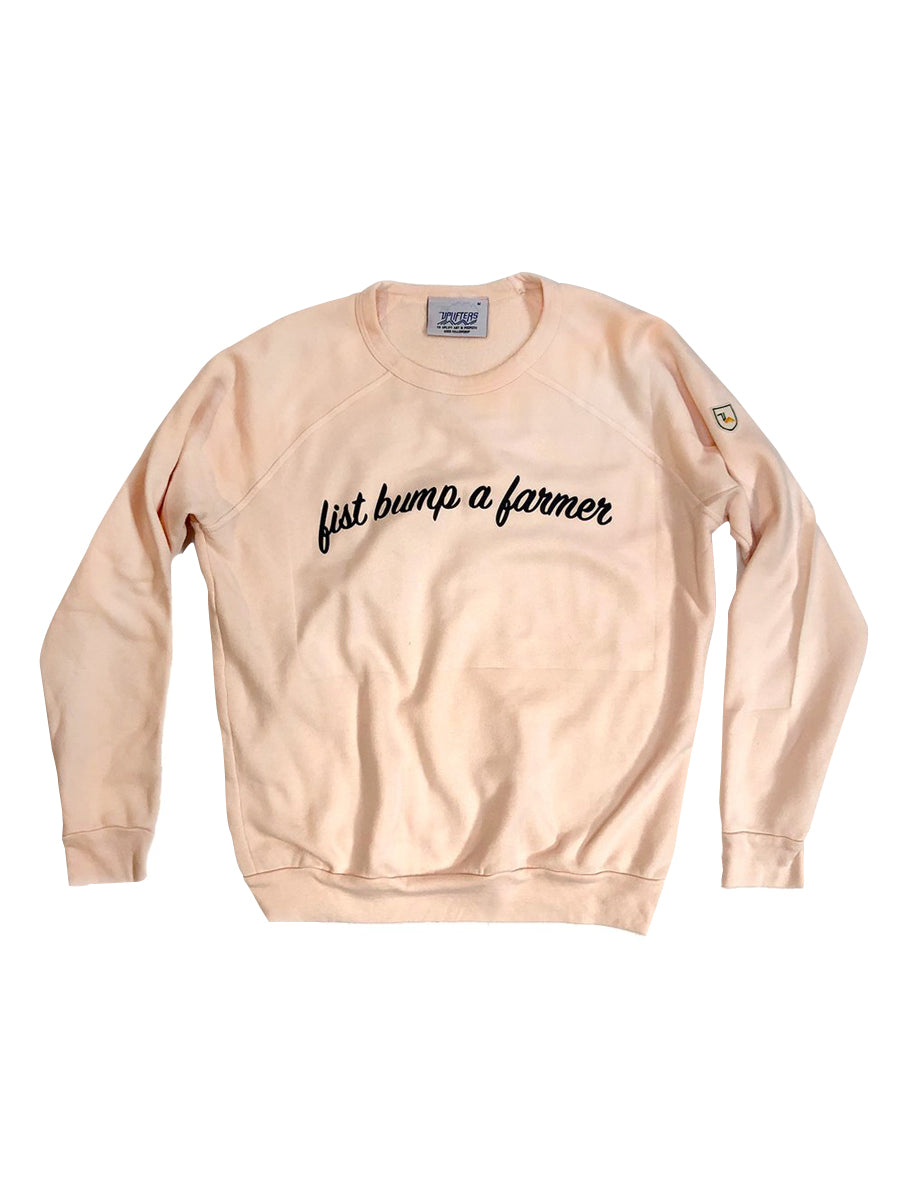 Fist Bump a Farmer Sweatshirt,, The Uplifters- Woo