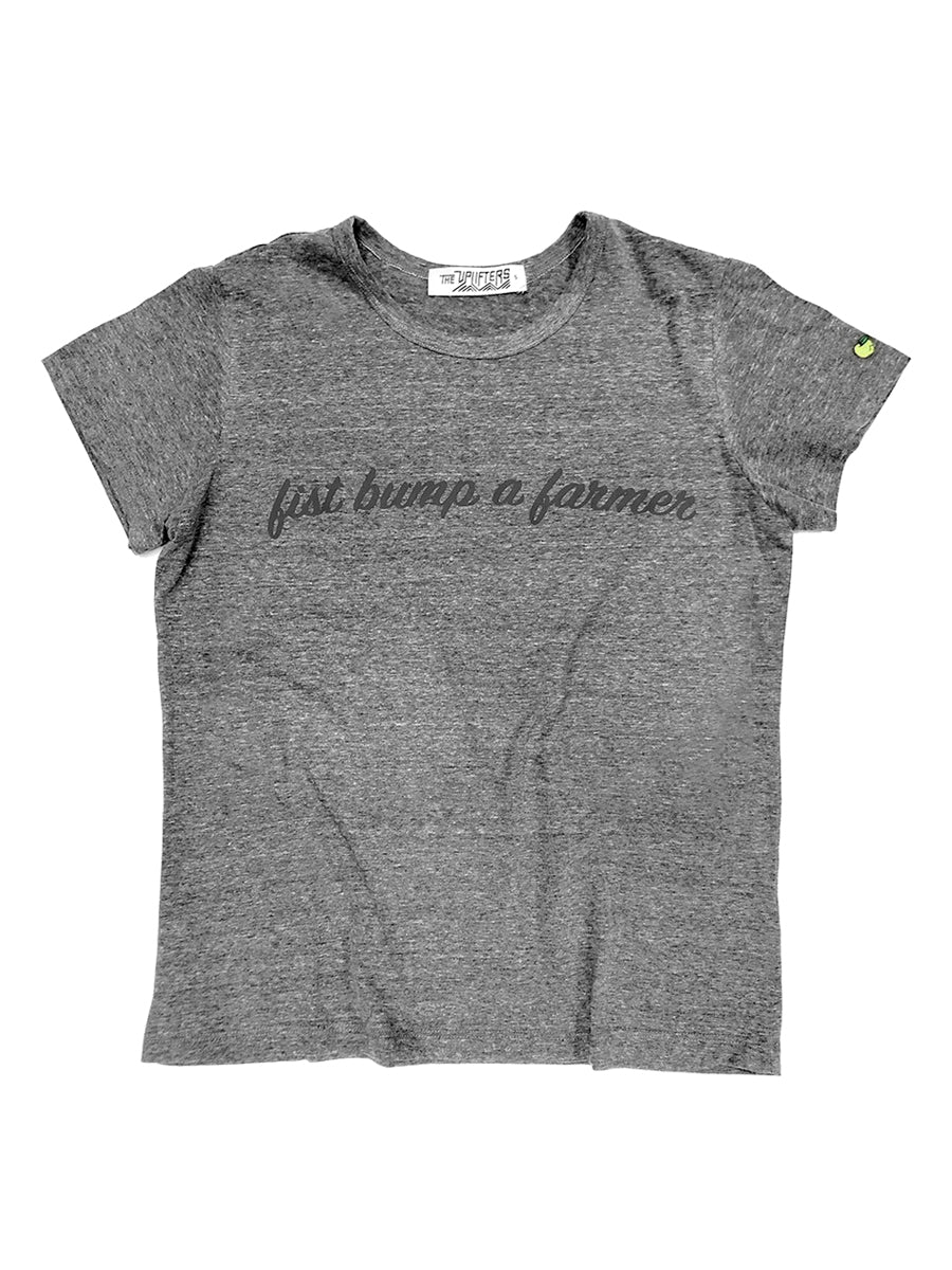 Fist Bump a Farmer Tee - Youth,, The Uplifters- Woo