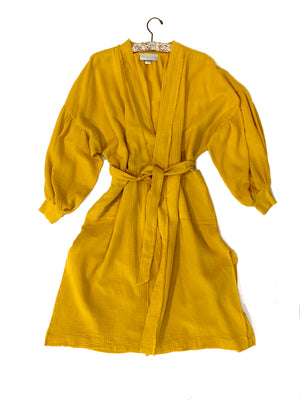 Billow sleeve Kimono Robe-golden sun,top, Woo- Woo