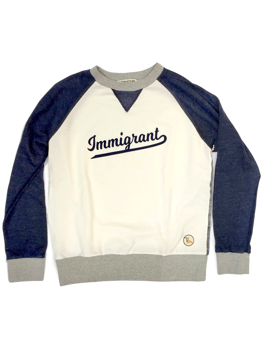 Immigrant Sweatshirt,, The Uplifters- Woo