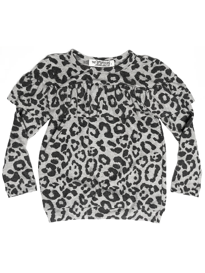 Youth Leopard Hacchi Sweater,, The Uplifters- Woo