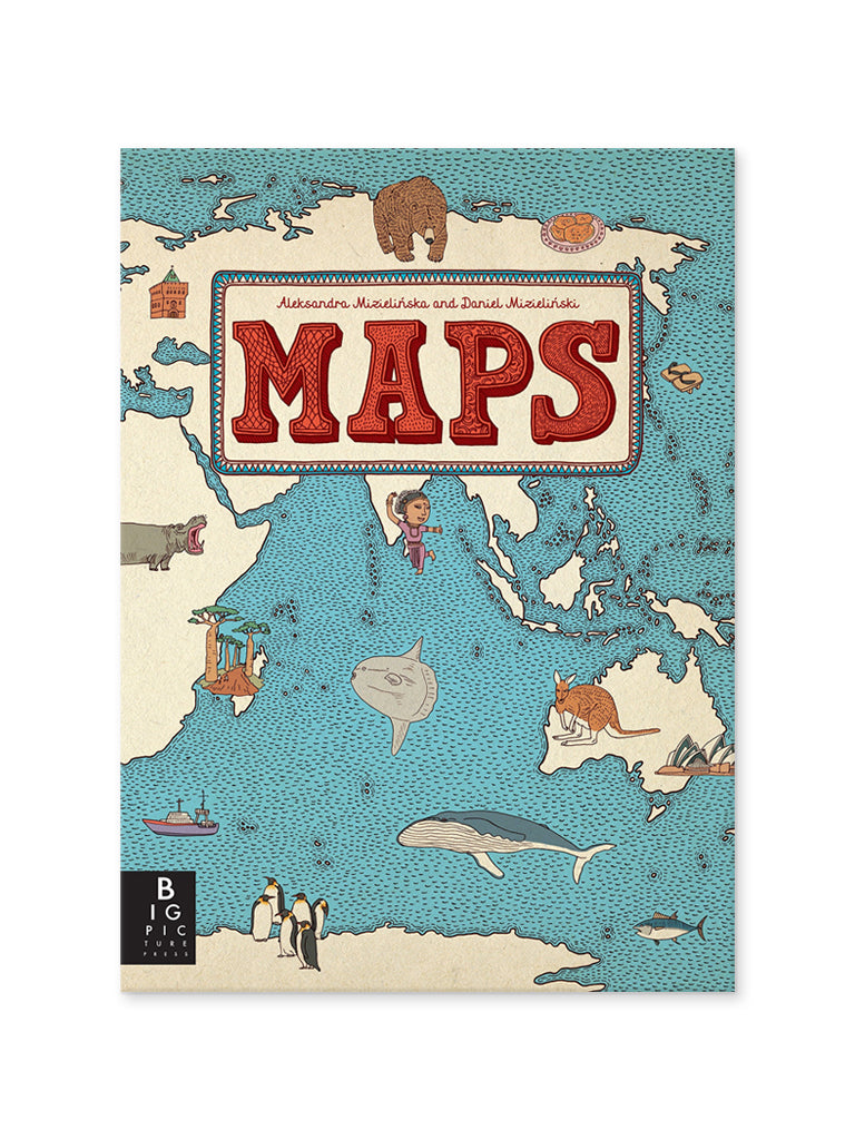 Maps Children's Book