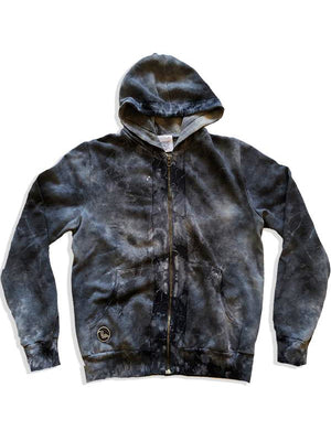 Latimer Zip Hoodie - Limited Edition Moonwash,, the uplifters- Woo