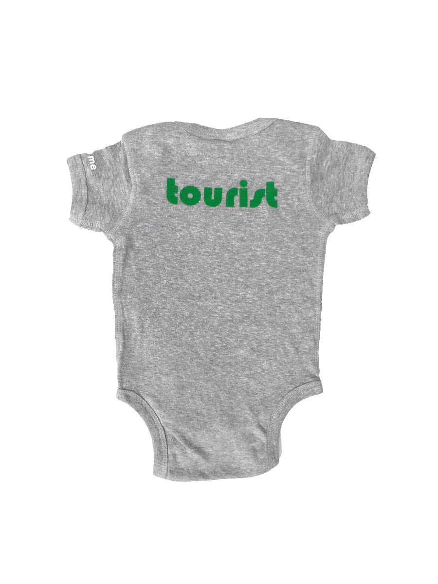 Local Tourist Onesie,newborn, little woo- Woo