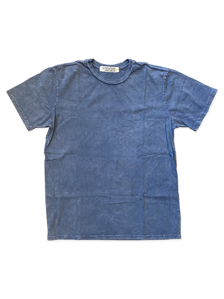 Blue Pigment Dyed Unisex Tee