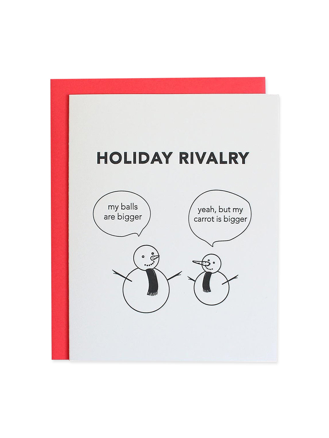 Holiday Rivalry Card