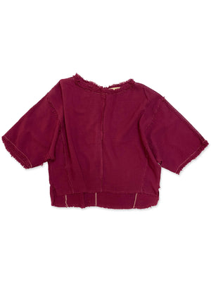 Roxy Top in Plum