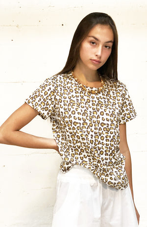 The Perfect Tee - leopard,, The Uplifters- Woo
