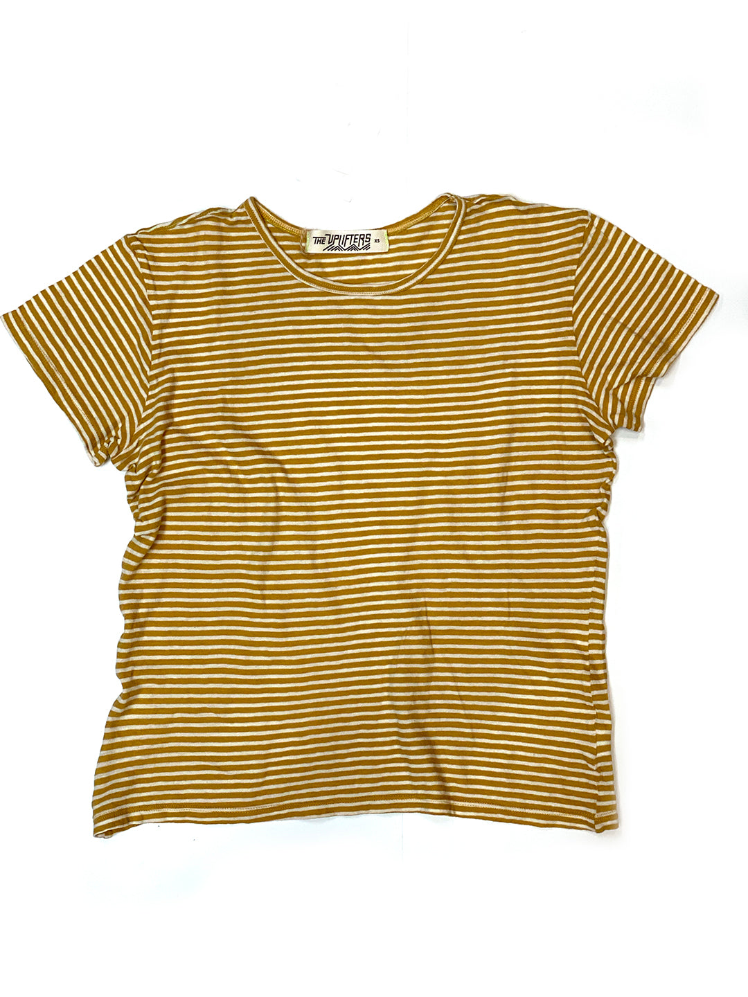 Organic Stripe Perfect Tee