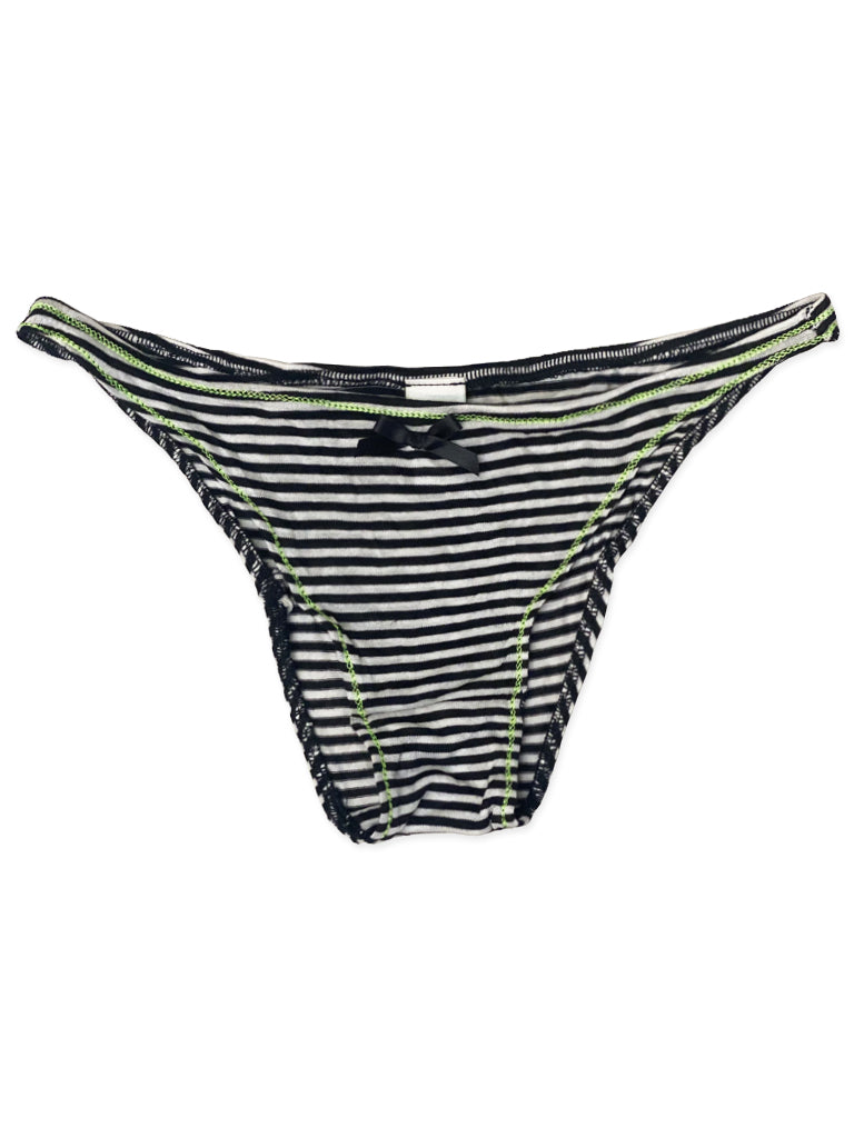 Striped Tanga Brief