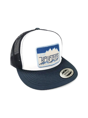 The Uplifters signature patch flat bill trucker