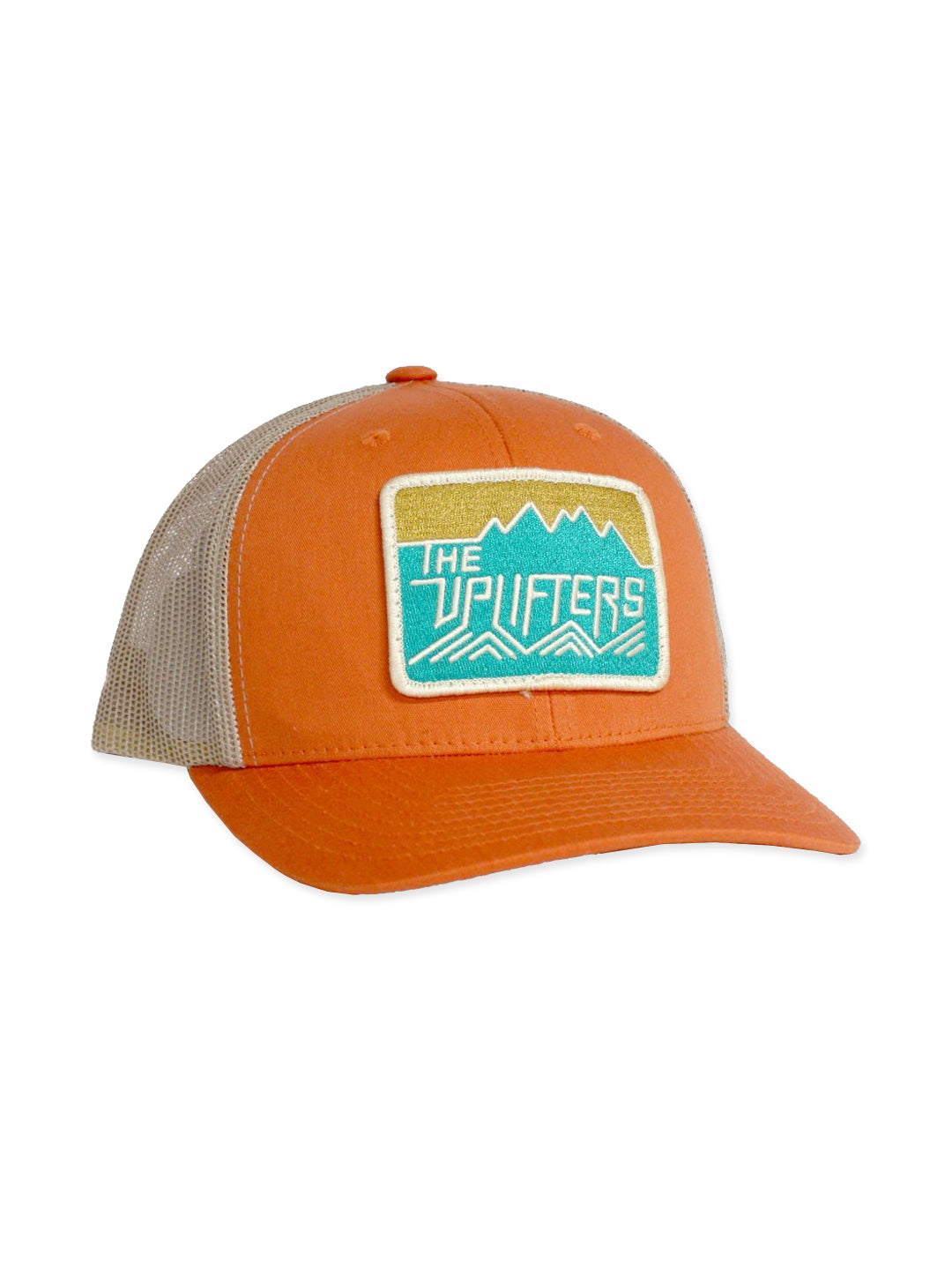 Classic Uplifters Patch Hat in Orange