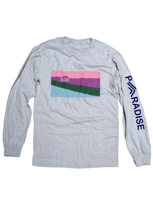 Paradise Long Sleeve Tee,, The Uplifters- Woo