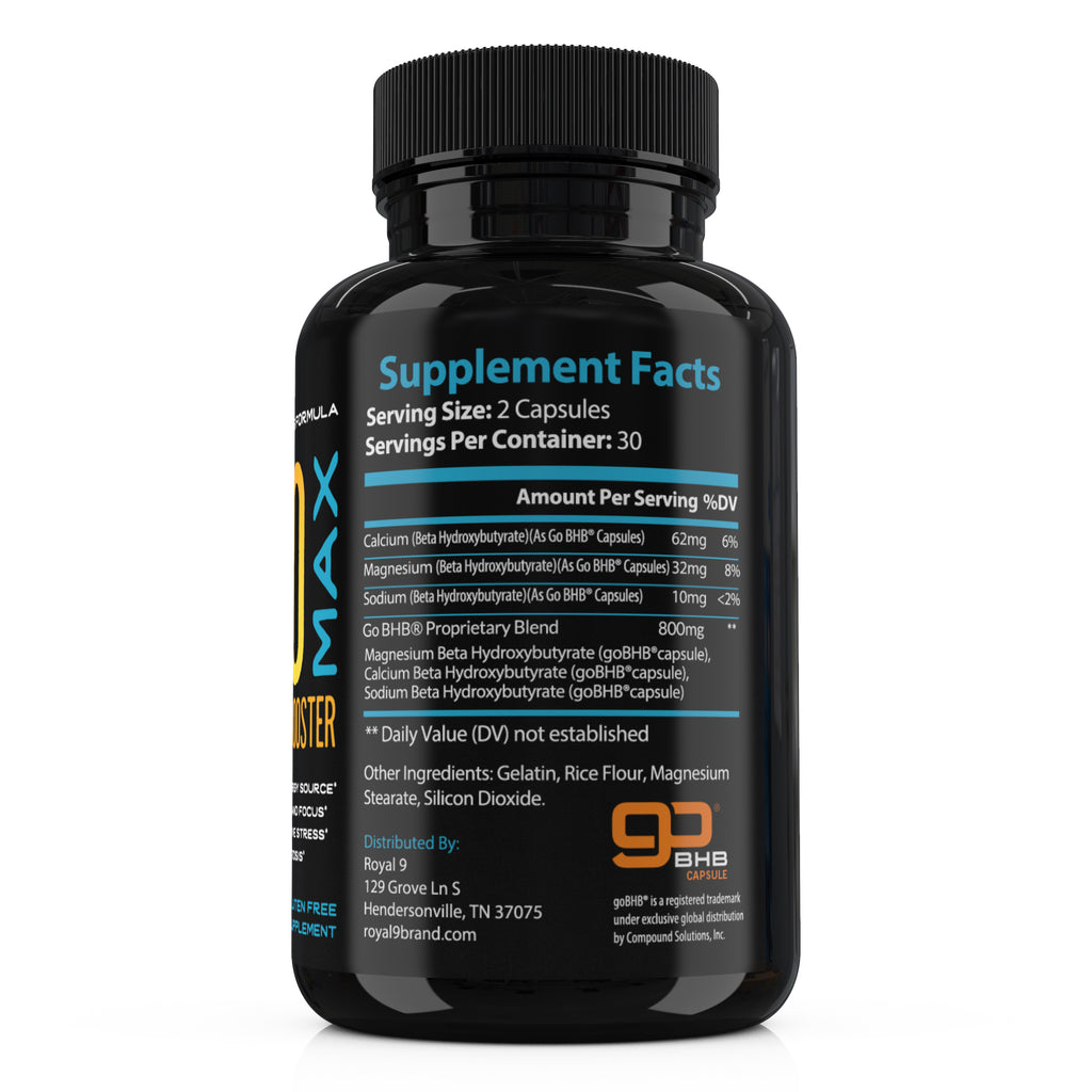 what ingredients are in keto bhb capsules