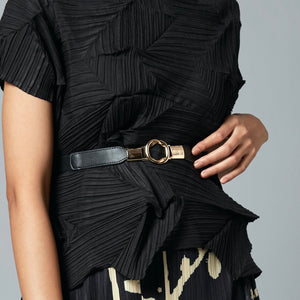 Link Buckle Belt - Black