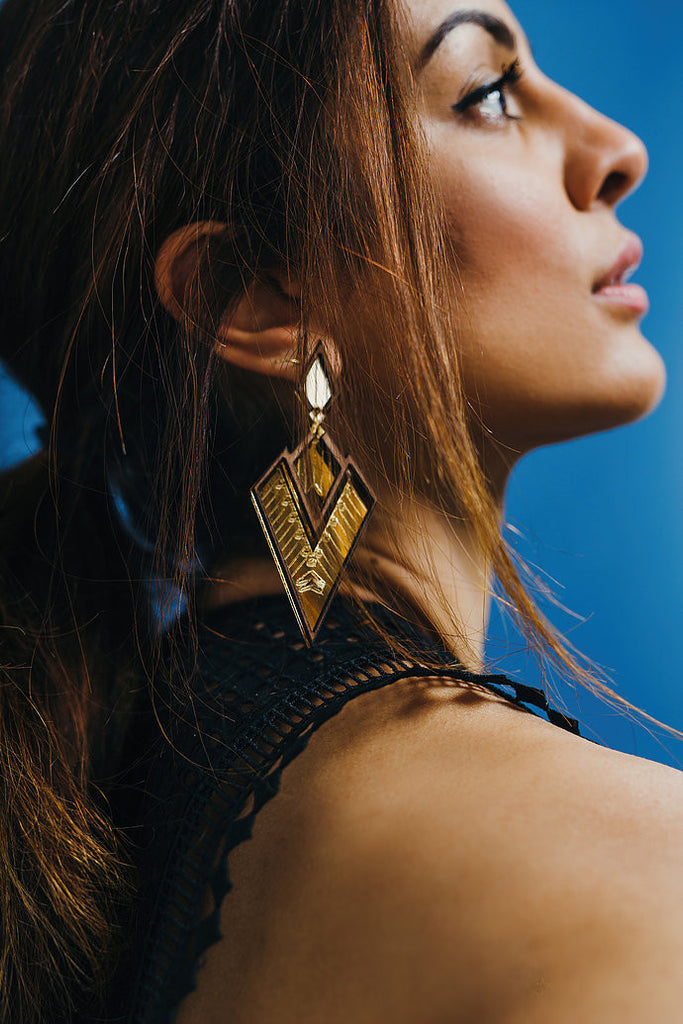 Fayola Statement Earrings
