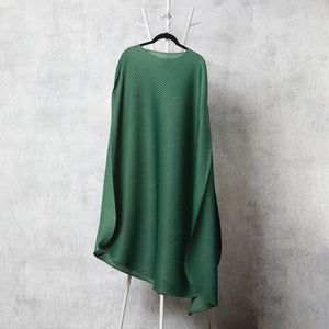 Cape Style, Bias Drape Dress - Green