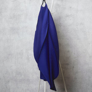 Cape Style, Bias Drape Tunic - Royal Blue