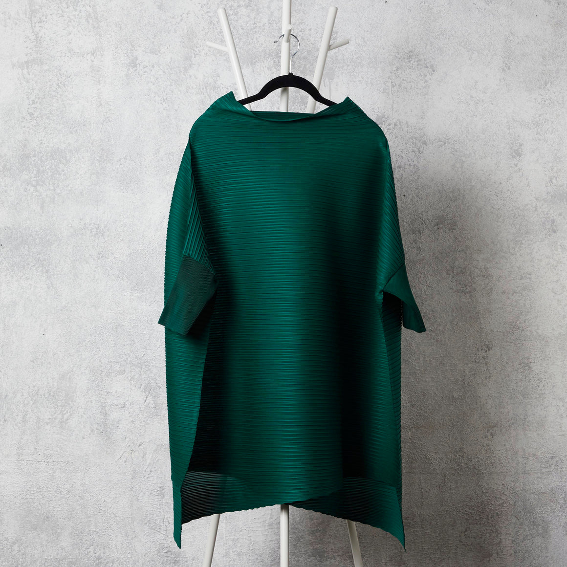 Cape Boat Neck Top - Green